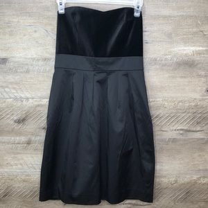 BANANA REPUBLIC FACTORY BLAVK COCKTAIL DRESS